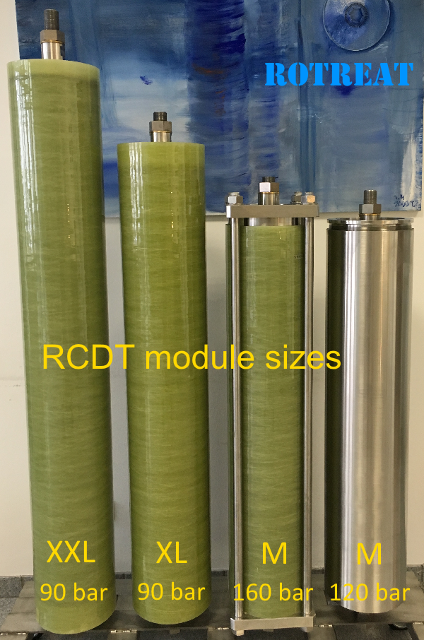 landfill leachate treatment - RCDT module from ROTREAT